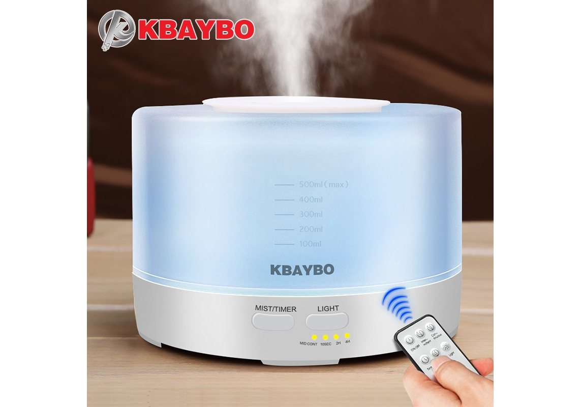 Home, Furniture & DIY Humidifiers 500ml Aroma Diffuser