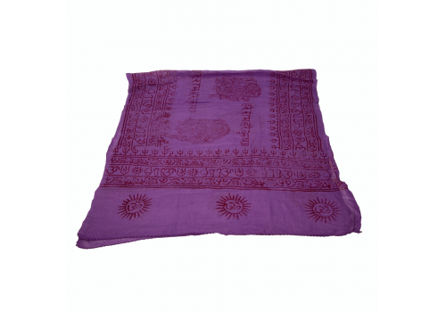 Beautiful Yogini Scarf with Ganesha Print