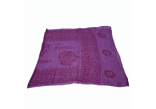 Beautiful Yogini Scarf with Lord Shiva Print