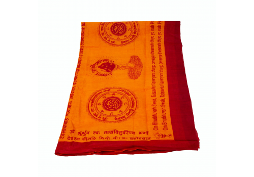 Original Gayatri Mantra Cotton Scarf