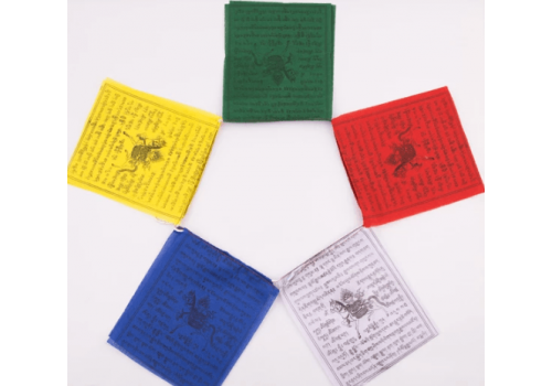 Quality Traditional Tibetan Buddhist Prayer Flags