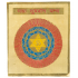 "Jumbo Size Metal Maha Sudarshan Yantra (Yantra for Protection from All Harm and Evil) - 6"" x 6"""